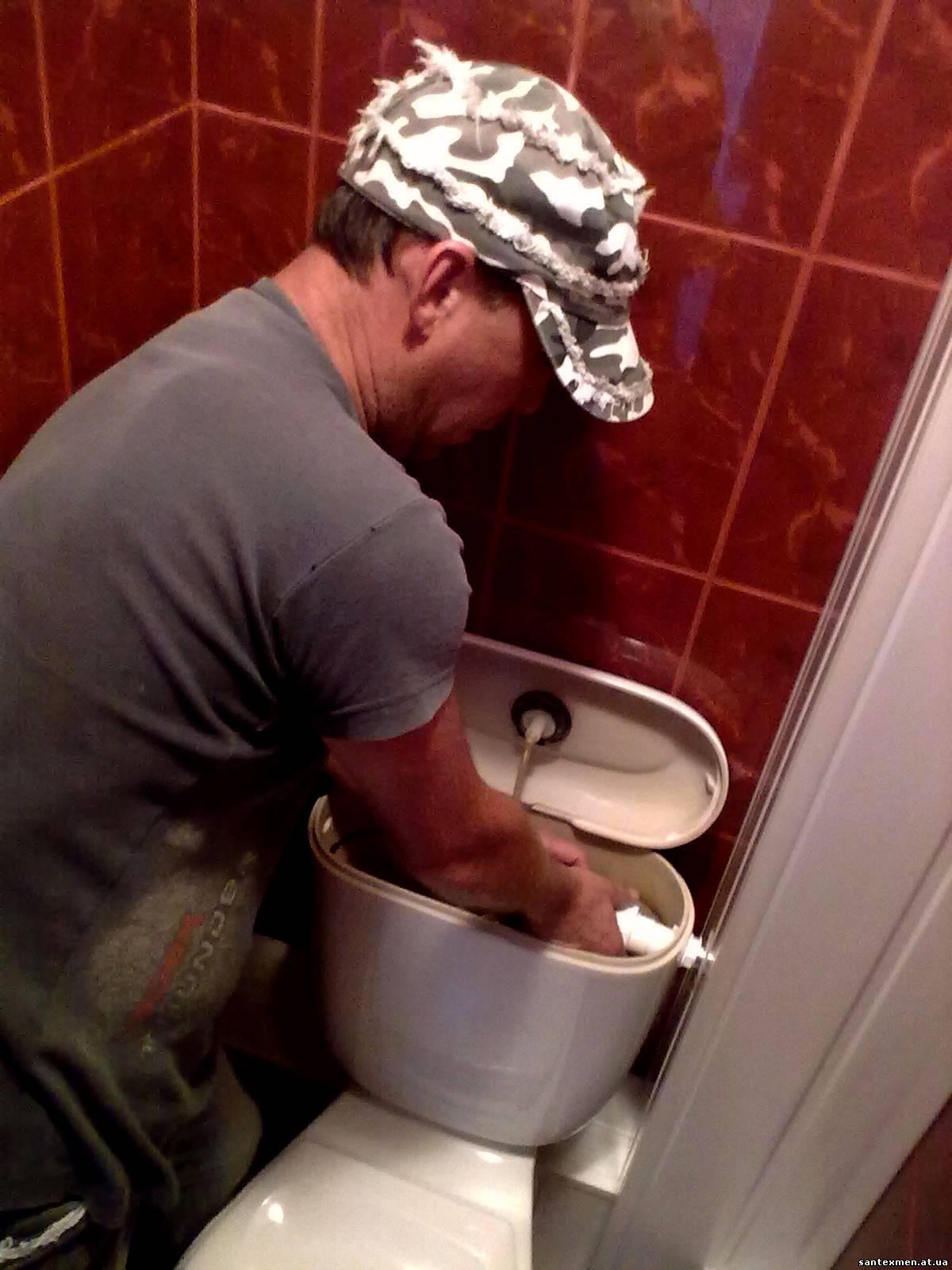 Унитаз gustavsberg ремонт своими руками